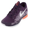 NIKE Men`s Zoom Vapor Flyknit Tennis Shoes Grand Purple and Metallic Silver