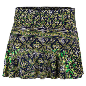 Women`s Challenge Tennis Skirt Print