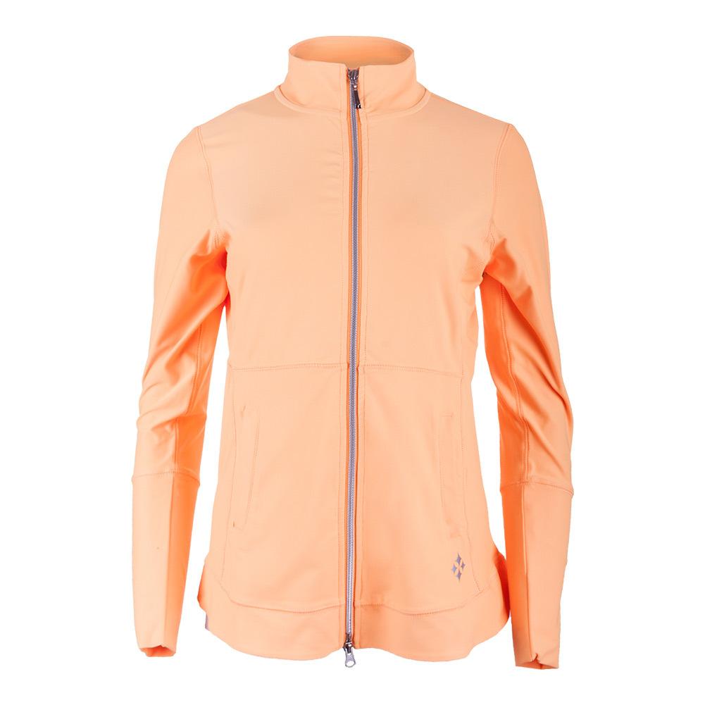 Women's Vitality Tennis Jacket Tangerine