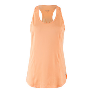 Women`s Top Spin Tennis Tank Tangerine