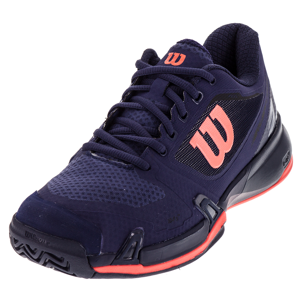 Women's Rush Pro 2.5 Tennis Shoes Astral Aura And Evening Blue