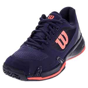 Women`s Rush Pro 2.5 Tennis Shoes Astral Aura and Evening Blue