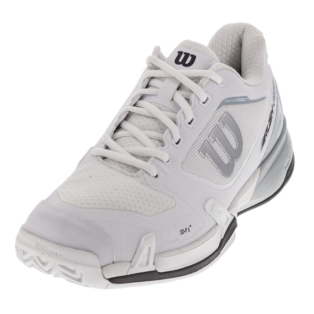 super popular 671d7 edf87 Men s Rush Pro 2.5 Tennis Shoes White And Pearl Blue