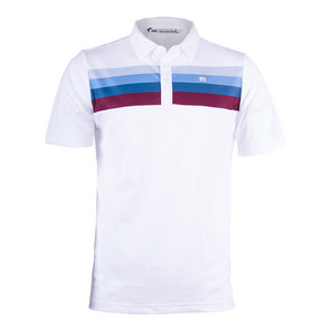 Men`s Chubauck Tennis Polo White
