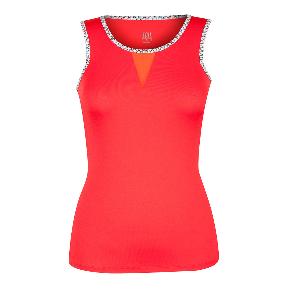 Women's Adelaide Tennis Top Paprika