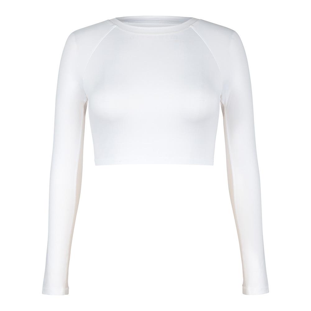 Women's Sasha Long Sleeve Tennis Top White