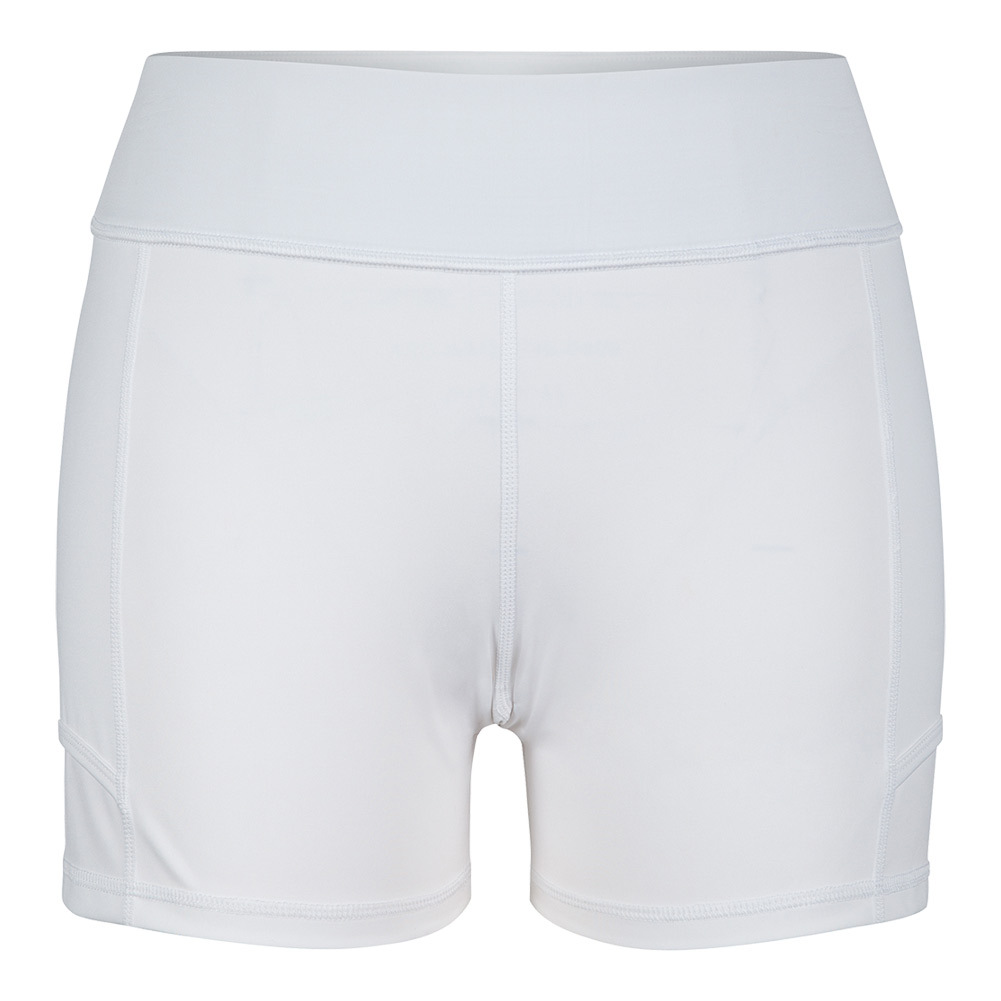 Women's Antonia Compression Tennis Short White