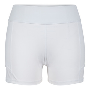 Women`s Antonia Compression Tennis Short White