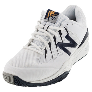 Mens 1006 4E Width Tennis Shoes White