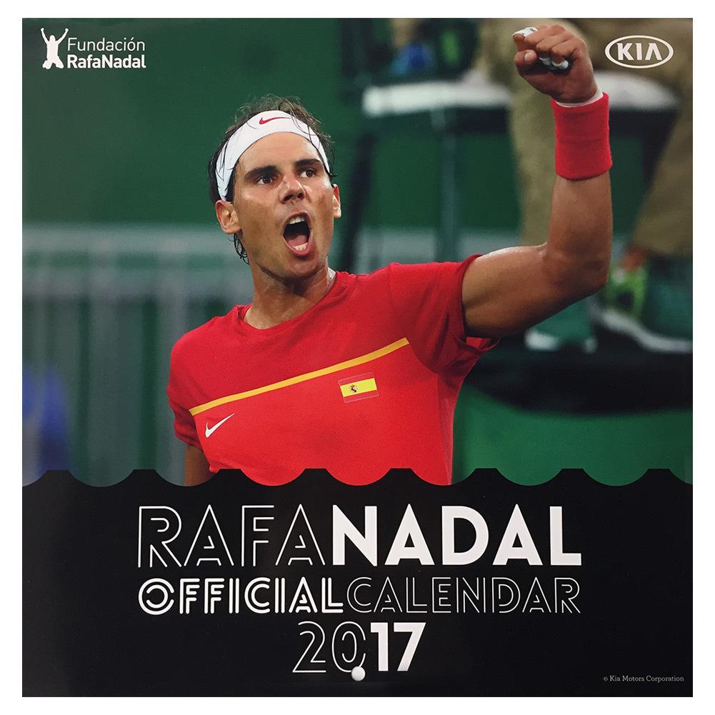 Rafael Nadal 2017 Calendar