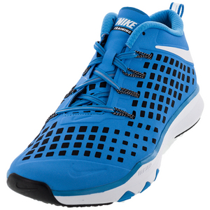 Men`s Train Quick Shoes Blue Glow and White