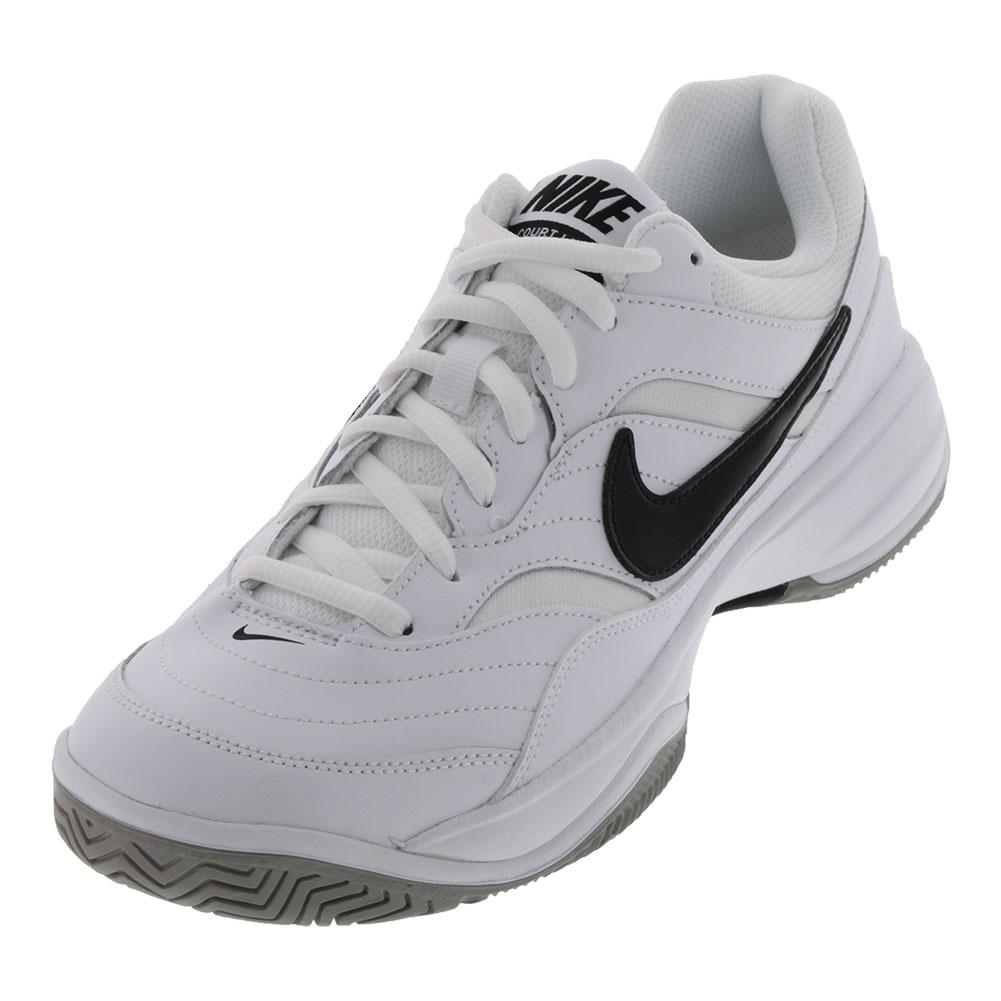 official photos 7dbe4 7ff16 NIKE NIKE Mens Court Lite Tennis Shoes White And Medium Gray
