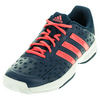 ADIDAS Juniors` Barricade Club Tennis Shoes Tech Steel and Flash Red