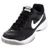 NIKE Men`s Court Lite Tennis Shoes Black and Medium Gray