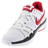 Men`s Air Vapor Advantage Tennis Shoes White and Black by NIKE