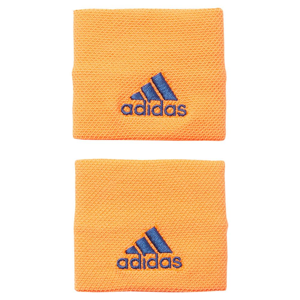 Small Tennis Wristband Glow Orange