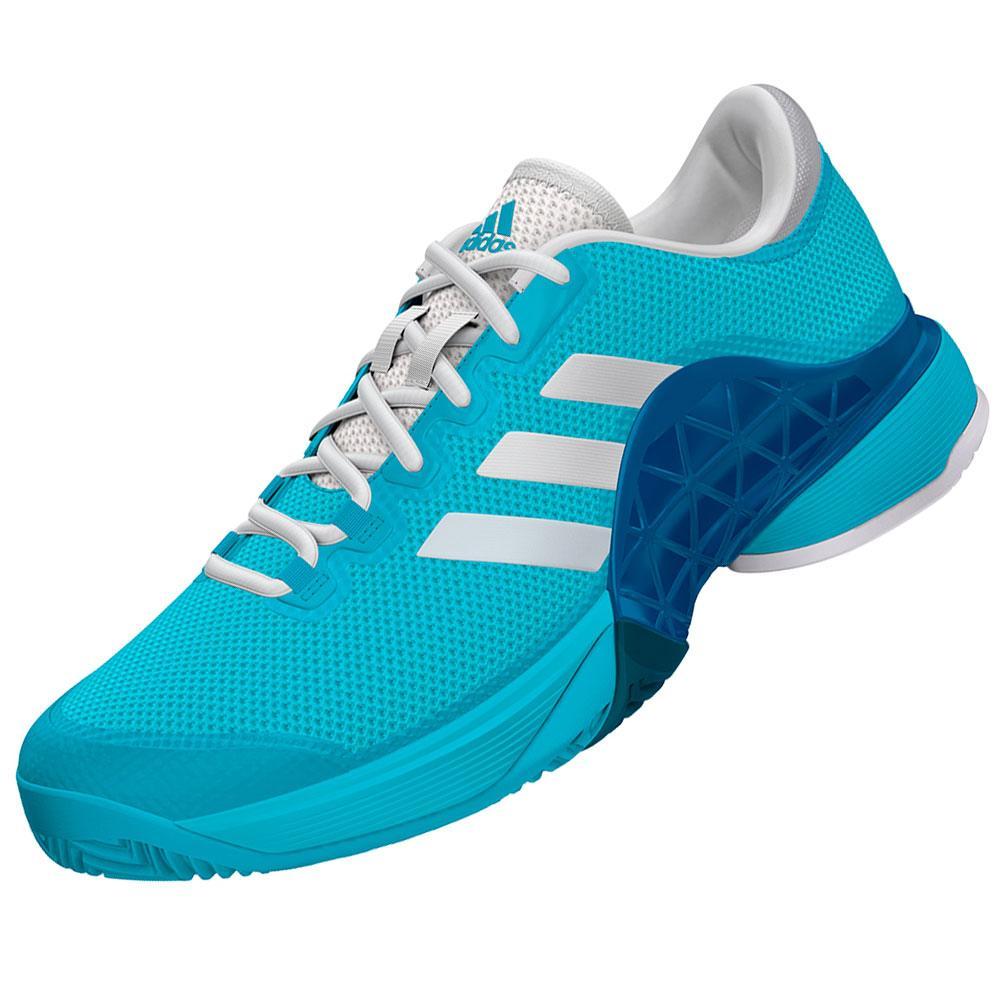 adidas junior s barricade 2017 tennis shoes samba blue and