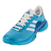 ADIDAS Men`s Barricade 2017 Tennis Shoes Samba Blue and White
