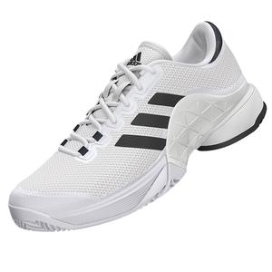 Juniors` Barricade 2017 Tennis Shoes White and Solid Gray
