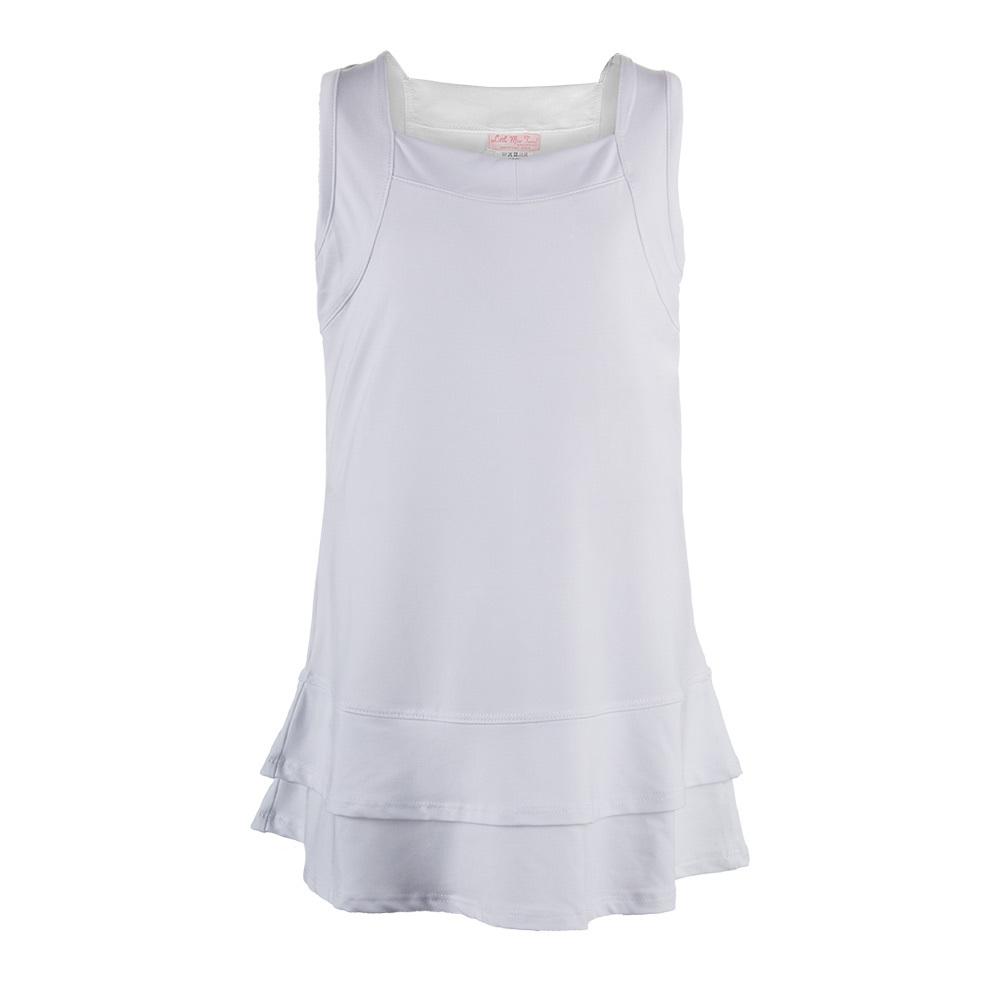 Girls ` Tennis Dress White