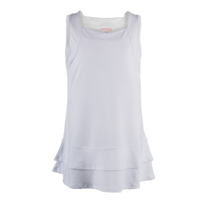 Girls` Tennis Dress  White