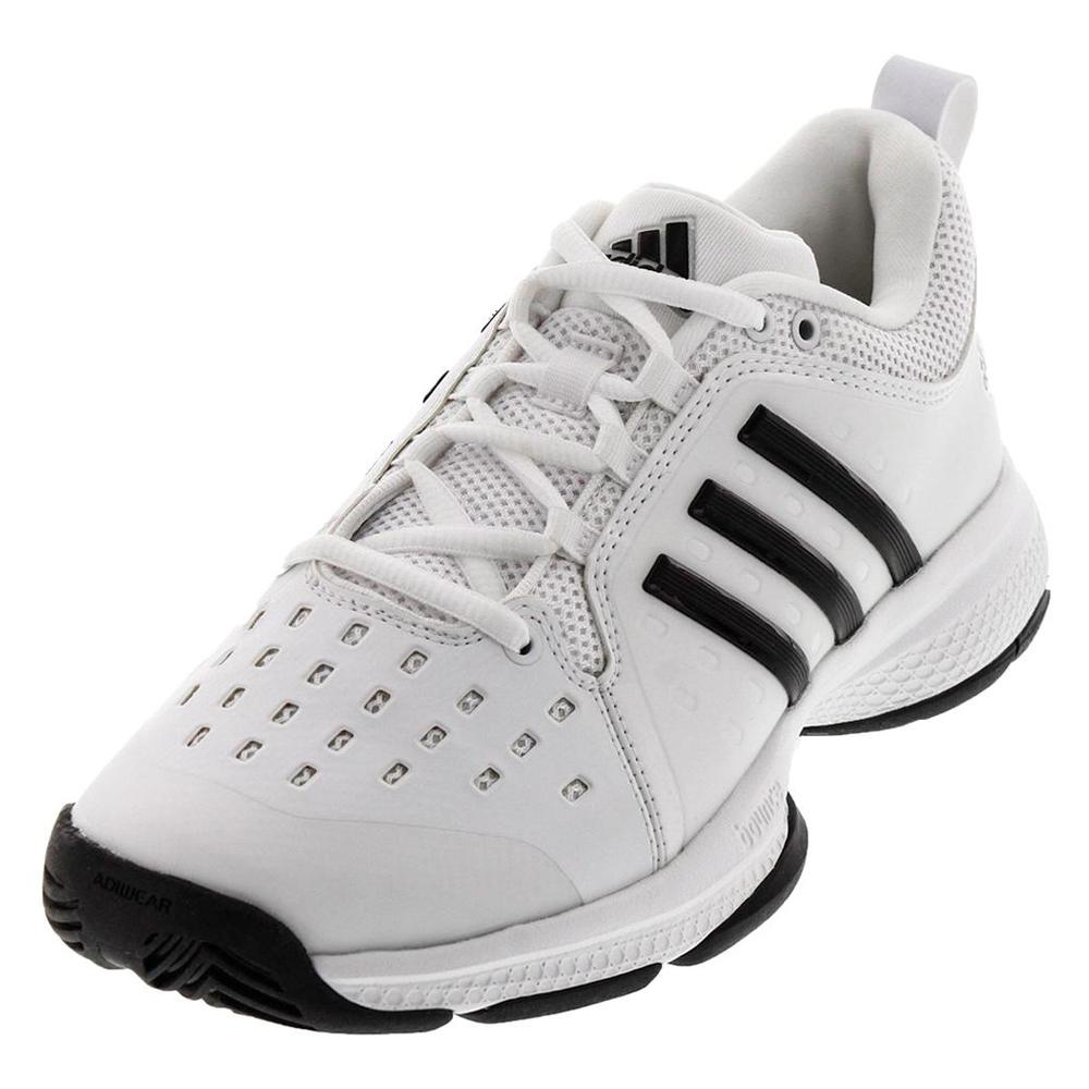 Men's Barricade Classic Bounce Tennis Shoes White And Black