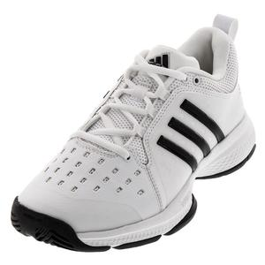 Men`s Barricade Classic Bounce Tennis Shoes White and Black