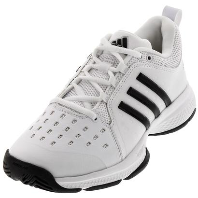 Juniors` Barricade Classic Bounce Tennis Shoes White and Black