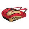 Pro Nine Pack Tennis Bag RED/GOLD