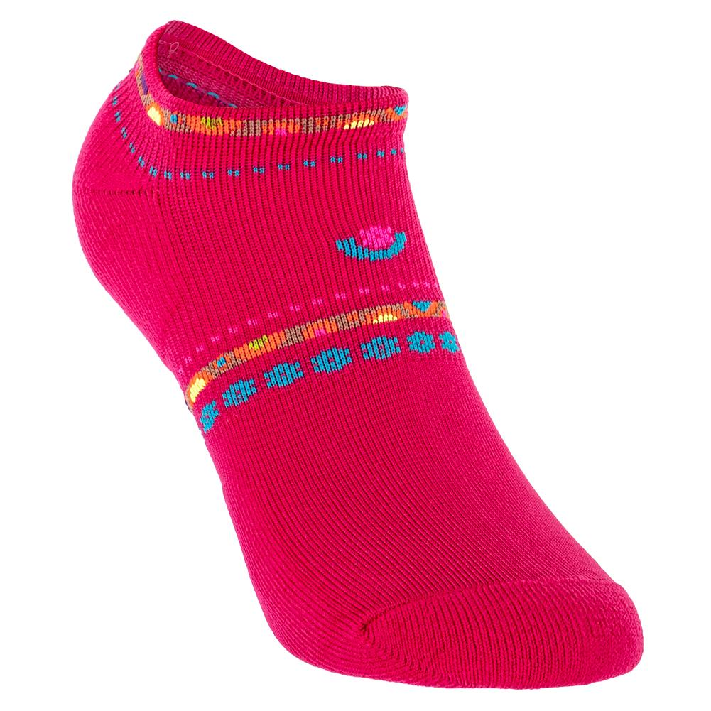 Women's Light Weight Low Cut Tennis Socks Pink