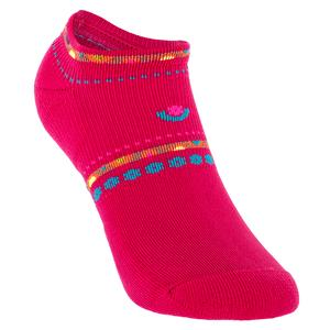 Women`s Light Weight Low Cut Tennis Socks Pink