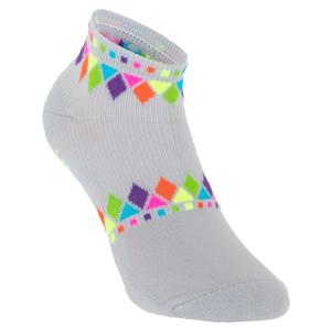 Women`s Light Weight Low Cut Tennis Sock Light Gray