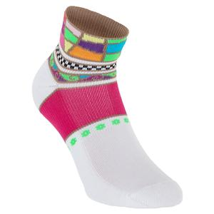 Women`s Light Weight Low Cut Tennis Socks Multicolor