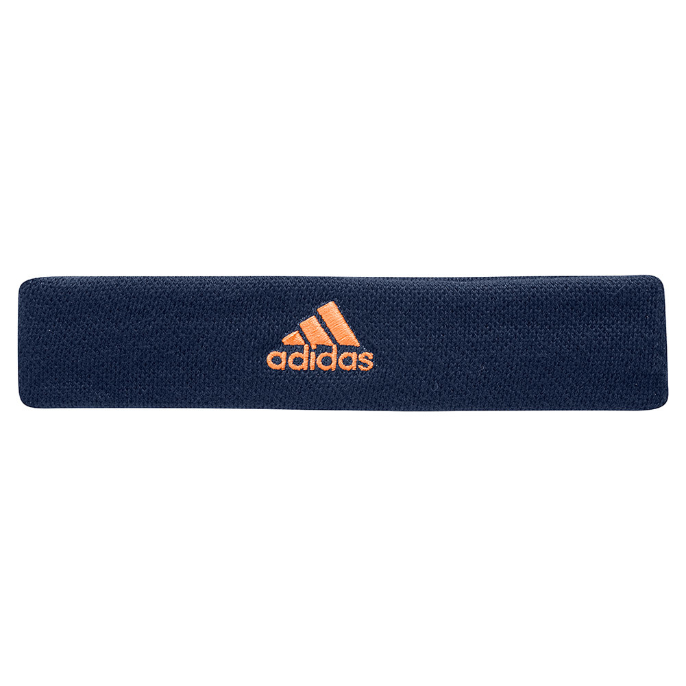Tennis Headband Mystery Blue And Glow Orange
