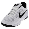NIKE Men`s Zoom Cage 2 Tennis Shoes White and Cool Gray