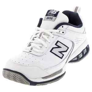 Men`s MC806 D Width Tennis Shoes White