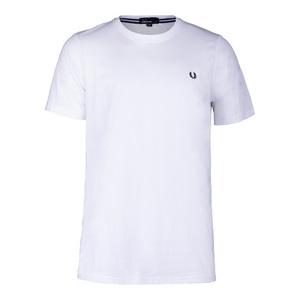 Men`s Crew Neck Tennis Tee White