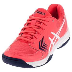 Women`s Gel-Dedicate 5 Tennis Shoes Diva Pink and White
