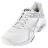 ASICS Men`s Gel-Solution Speed 3 Tennis Shoes White and Silver