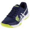 ASICS Men`s Gel-Dedicate 5 Tennis Shoes Indigo Blue and White