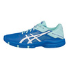 ASICS Juniors` Gel-Solution Speed 3 Tennis Shoes Aqua Splash and White