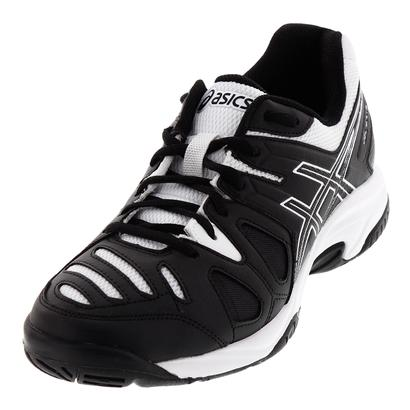 Juniors` Gel-Game 5 Tennis Shoes Black and White