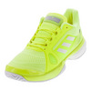 ADIDAS Women`s Stella McCartney Barricade Boost 2017 Tennis Shoes Solar Yellow and Wht