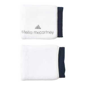 Women`s Stell McCartney Tennis Wristband White and Black