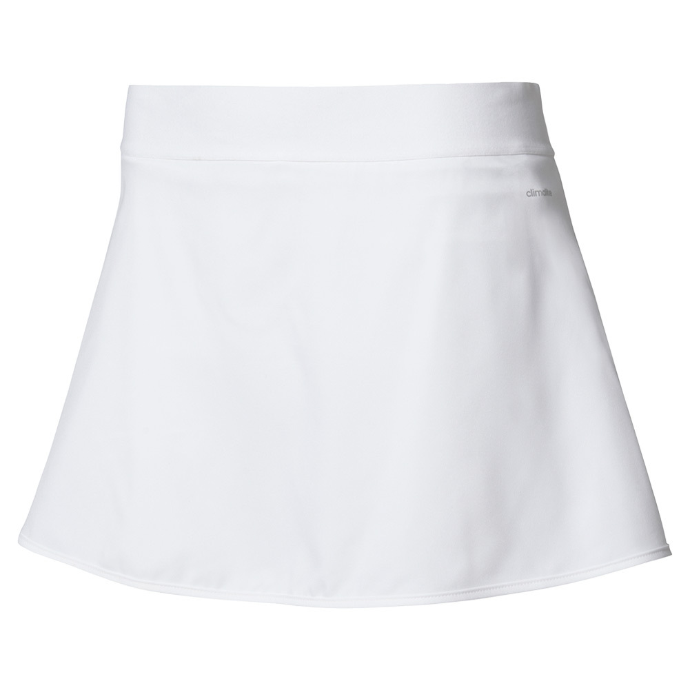 Women's Club 12 Inch Tennis Skirt White