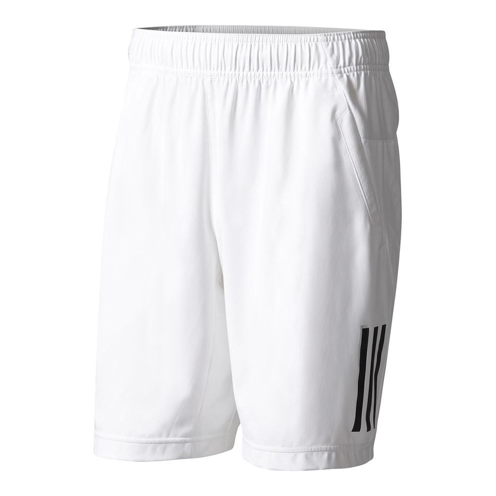 Men's Club Tennis Short White And Black
