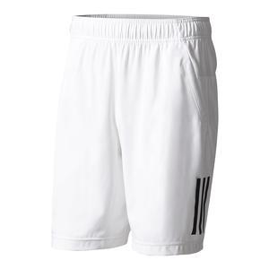 Men`s Club Tennis Short White and Black