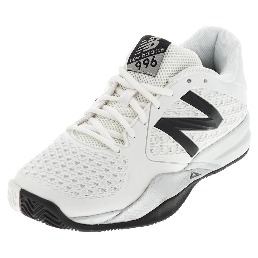 Men's 996v2 D Width Tennis Shoes White