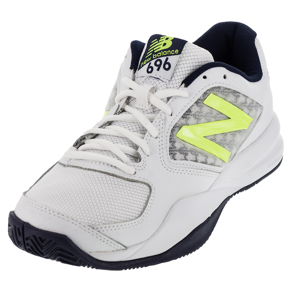 Men's 696v2 D Width Tennis Shoes Riptide And Firefly