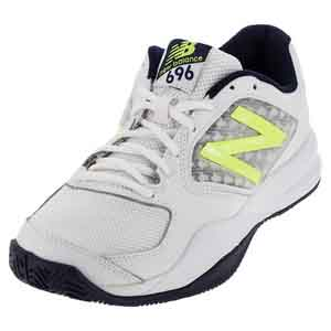 Men`s 696v2 D Width Tennis Shoes Riptide and Firefly